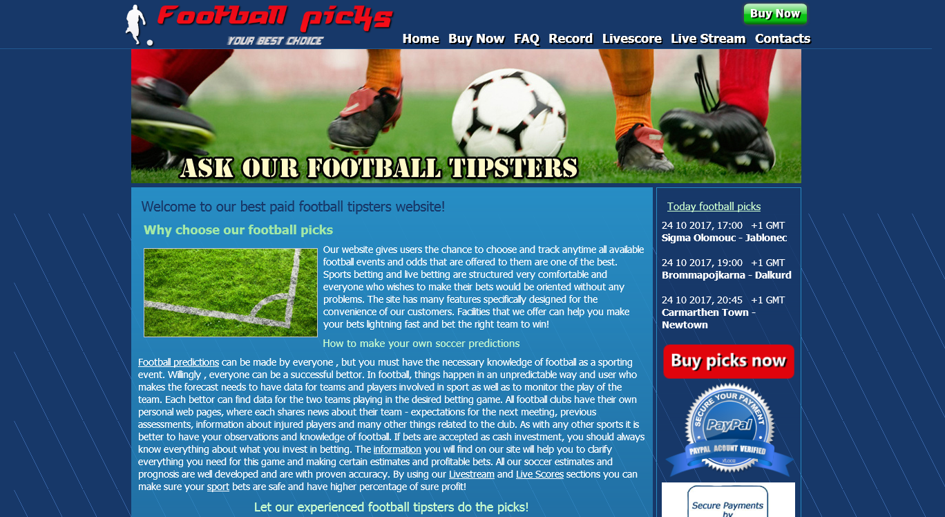 TOP Betting Websites – Soccer Predictions, Live Matches & Results