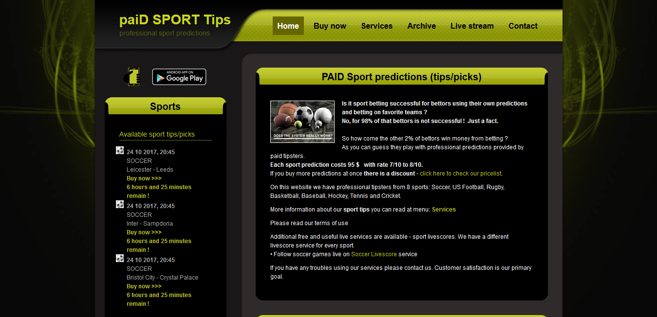 TOP Betting Websites – Soccer Predictions, Live Matches